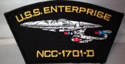 Star Trek TNG U.S.S.Enterprise NCC-1701-D Ship PATCH