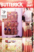 Butterick 4371 Crafts Sewing Pattern Tablecloths and Accessories