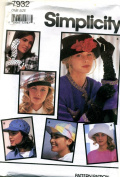 Simplicity 7932 - Sets of Hats and Gloves