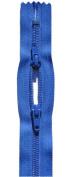 60cm Sport Zipper YKK #5 Nylon Coil Closed Bottom - Face to Face ~ YKK Colour 918 Royal Blue