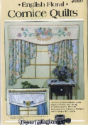 English Floral Cornice Quilts - Basket of Posies & Border Rose Designs