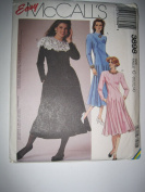 McCall's Pattern 3898 Misses' Dress Sizes 10-12-14