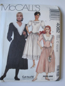McCall's Pattern 4082 Misses' Dress Sizes 10-12-14