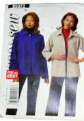 See & Sew B5372 Misses Jacket Size A 8,10,12,14