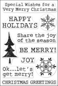 Poly Clear Stamps: Get Merry