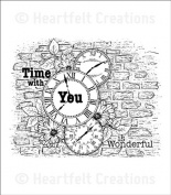 Heartfelt Creations Once Upon A Time - Brick Clock Collage