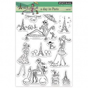 Penny Black Decorative Rubber Stamps, A Day in Paris