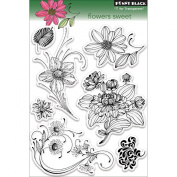 Penny Black 30-096 Flowers Sweet Clear Stamp