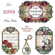 SHABBY CHI-JUSTRITE CLING STAMP