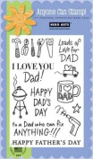 Happy Dad's Clear Stamp Set