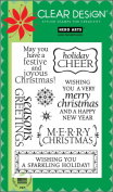 Holiday Cheer Clear Stamp Set