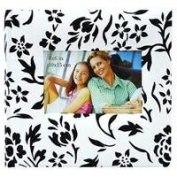 MBI Fabric Flocked BookBound Album with Window Cover, Holds 200 10cm x 15cm Photos 2-Up, Colour