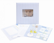 CR Gibson Baby Boy Complete Scrapbook Kit from Tapestry