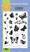 Designer Butterflies Clear Stamp Set