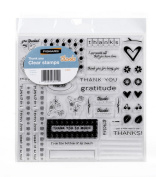 Fiskars Stamps, Thank You