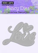 Hero Arts Love and Heart Fancy Die Cuts