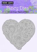 Hero Arts Renaissance Heart Fancy Die Cuts