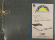Thompson Postbound/ STring Tied 100 Heavy Gauge Pages Scrapbook