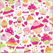 Kaisercraft Candy Lane Glitter Paper, 30cm by 30cm , Treats, 10 Sheets