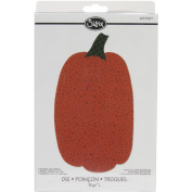 Sizzix 657887 Bigz Large Tall Pumpkin with Stem Decorative Die by Rory Newell