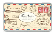 Cavallini Rubber Stamps Par Avion, Assorted with Ink Pad