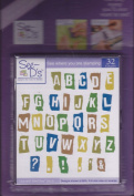 See D's Ransom Alphabet 32 Rubber Stamps Ransome + Case # 50075 Inque Boutique Sugarloaf