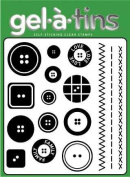 Gel-a-tins Stamps - Sewing Kit