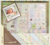 Colorbok Little One Postbound Album Kit, 20cm by 20cm