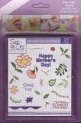 See D's Crewel Stitchery 23 Rubber Stamps and Case # 50154 Inque Boutique Sugarloaf