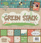 Die Cuts With A View 36-Sheet Premium Stack, 30cm by 30cm , Green