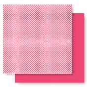 Best Creation 30cm by 30cm Basic Glitter Paper, Princess Dot