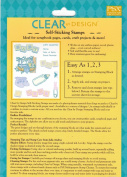 Baby Designs PSX Clear Unmounted Rubber Stamp Set