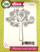 Impression Obsession io Steel Die # DIE036-P Swirl Tree US American Made