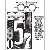 Stampers Anonymous Tim Holtz Cling Rubber Stamp Set The Countdown