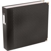 Project Life Designer D-Ring Album 30cm x 30cm -Midnight Edition - Dots