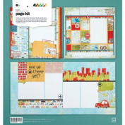 Wander Page Kit 12x12-Makes (2) 1-Page & (1) 2-Page Layouts