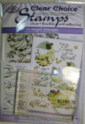 Angel Clear Choice Stamps - CCS014
