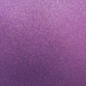 Best Creation 30cm by 30cm Glitter Cardstock, Purple