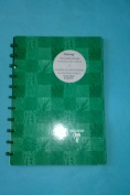 """Clairfontaine Clairing Scrapbook 8 1/4"""" x 11 3/4"""" 21 x 29.7 cm 40 pages / 20 Sheets Black Pages Green Cover"""