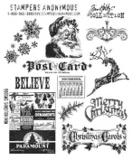 Stampers Anonymous Tim Holtz Cling Rubber Stamps