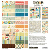 October Afternoon 9 To 5 Collection Kit 12'X12'