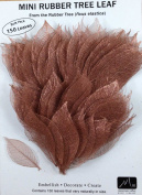 COPPER MINI RUBBER TREE LEAVES - Pack of 150