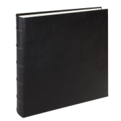 Large Genuine Italian Leather Bound Album,100 Pages, Photo Squares Included, 33cm - 0.3cm x 33cm
