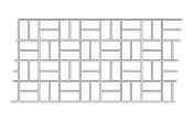 BonWay 32-241 80cm by 365-Feet Paper Stencils for Decorative Concrete, Basket Weave
