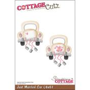 Just Married Car Die-cut (4x6) // Cottage Cutz