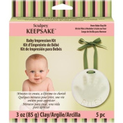 Polyform NOM481540 Sculpey Keepsake Baby Impression Kit