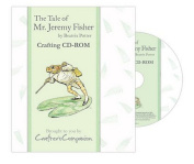 Beatrix Potter The Tale of Jeremy Fisher Crafting CD-Rom Backing Papers Envelopes Note Papers Inserts Tea Bag Papers Borders More