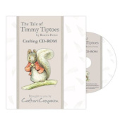 Beatrix Potter The Tale of Timmy Tiptoes Crafting CD-Rom Backing Papers Envelopes Note Papers Inserts Tea Bag Papers Borders More