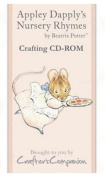 Beatrix Potter Appley Dapply's Nursery Rhymes Crafting CD-Rom Backing Papers Envelopes Note Papers Inserts Tea Bag Papers Borders More