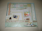 Colorbok PeekABoo Pals Predesign Scrapbook Box Kit